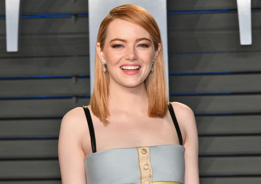 Emma Stone, last years top earner on Forbes' list of highest paid actresses, couldn't even make it to the list of top ten this year. Source: Getty images.