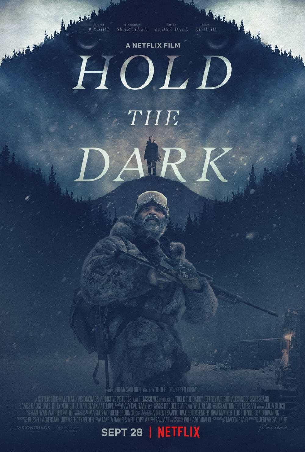 'Hold the Dark' is based on William Giraldi's novel of the same name (Netflix)