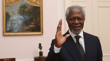 Former UN secretary-general and Nobel laureate Kofi Annan dies at 80