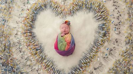 4 years, 3 miscarriages and 1,616 shots: The miracle of the RAINBOW BABY will make your heart melt