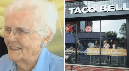 Coolest centenarian ever: Ruth Parker celebrates her 101st birthday at Taco Bell