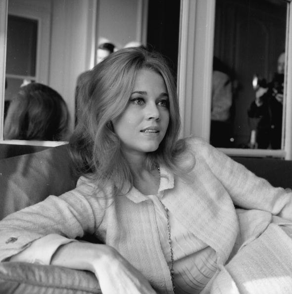 Jane Fonda at the Savoy Hotel, London in 1965. (Photo by Kaye/Express/Getty Images)