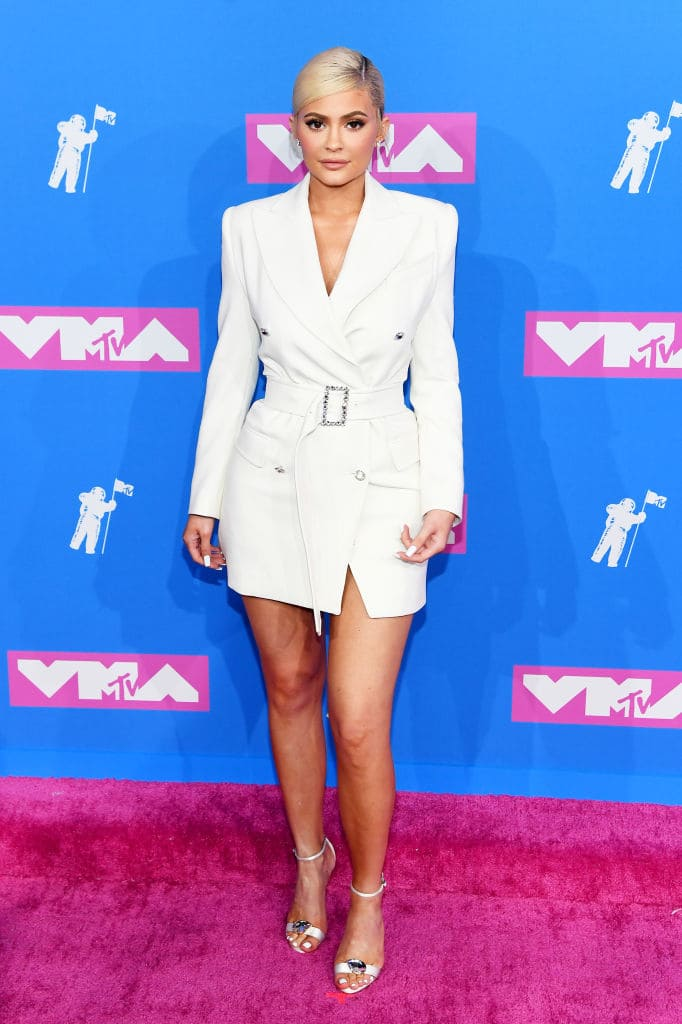 Kylie Jenner at the 2018 MTV Video Music Awards at Radio City Music Hall on August 20, 2018 in New York City. (Photo by Nicholas Hunt/Getty Images)
