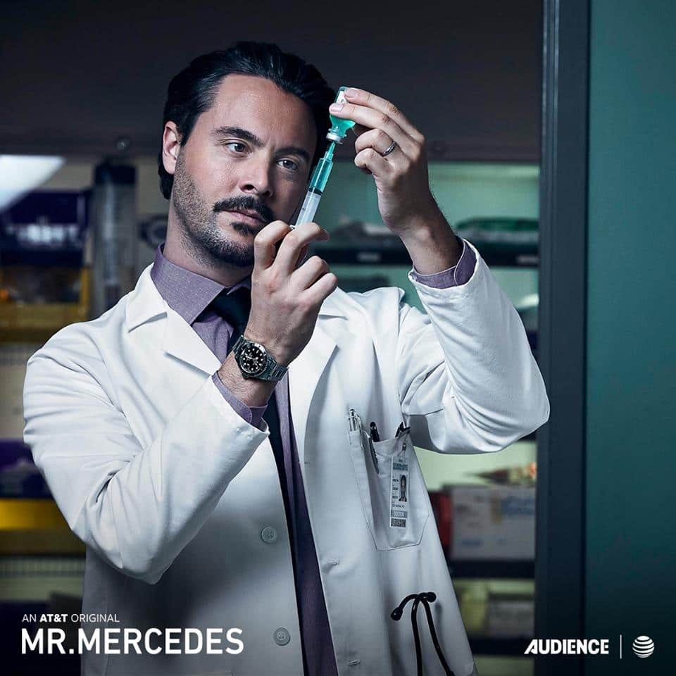 Jack Huston plays Brady Hartsfield's doctor, Felix Badineau in season 2 of Netfix's 'Mr. Mercedes'. (Image Source: Facebook / Mr. Mercedes)