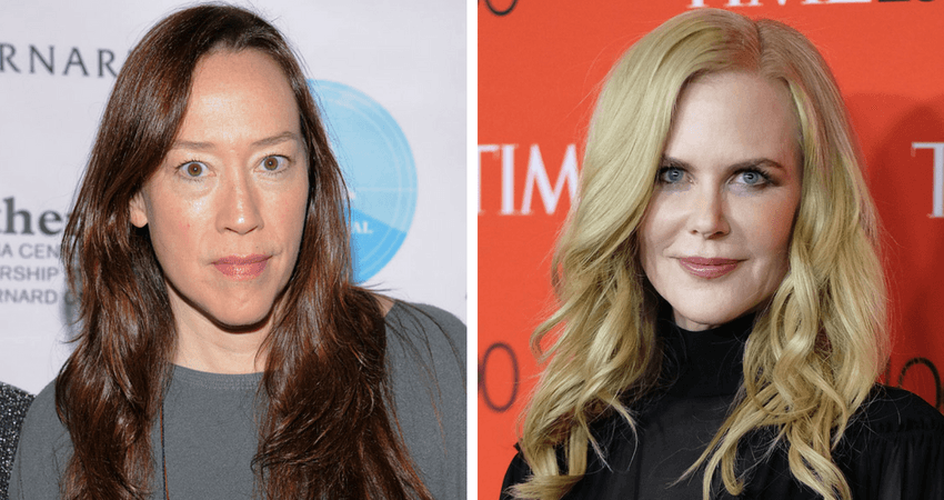 Directed by Karyn Kusama (L), the film stars Nicole Kidman (R) as Erin Bell - who, as a young cop, was placed undercover with a gang in the California desert with tragic results. Source: Getty images.