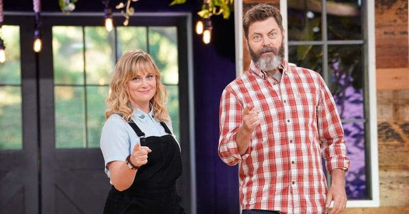 nbc renews 39 making it 39 with amy poehler and nick offerman for season 2 meaww. Black Bedroom Furniture Sets. Home Design Ideas