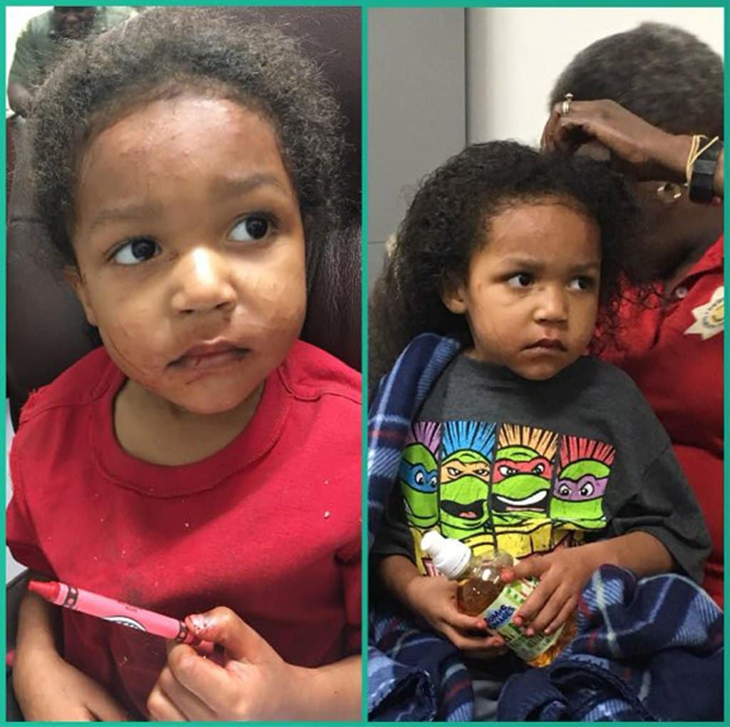 The three-year-old boy who, along with his one-year-old brother, survived alone for days after a car crash killed their mother (Ouachita County Sheriff Office)