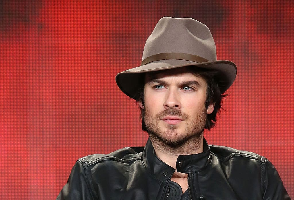 Promoting feline welfare on his Instagram isn't a new thing for Somerhalder (Getty Images)
