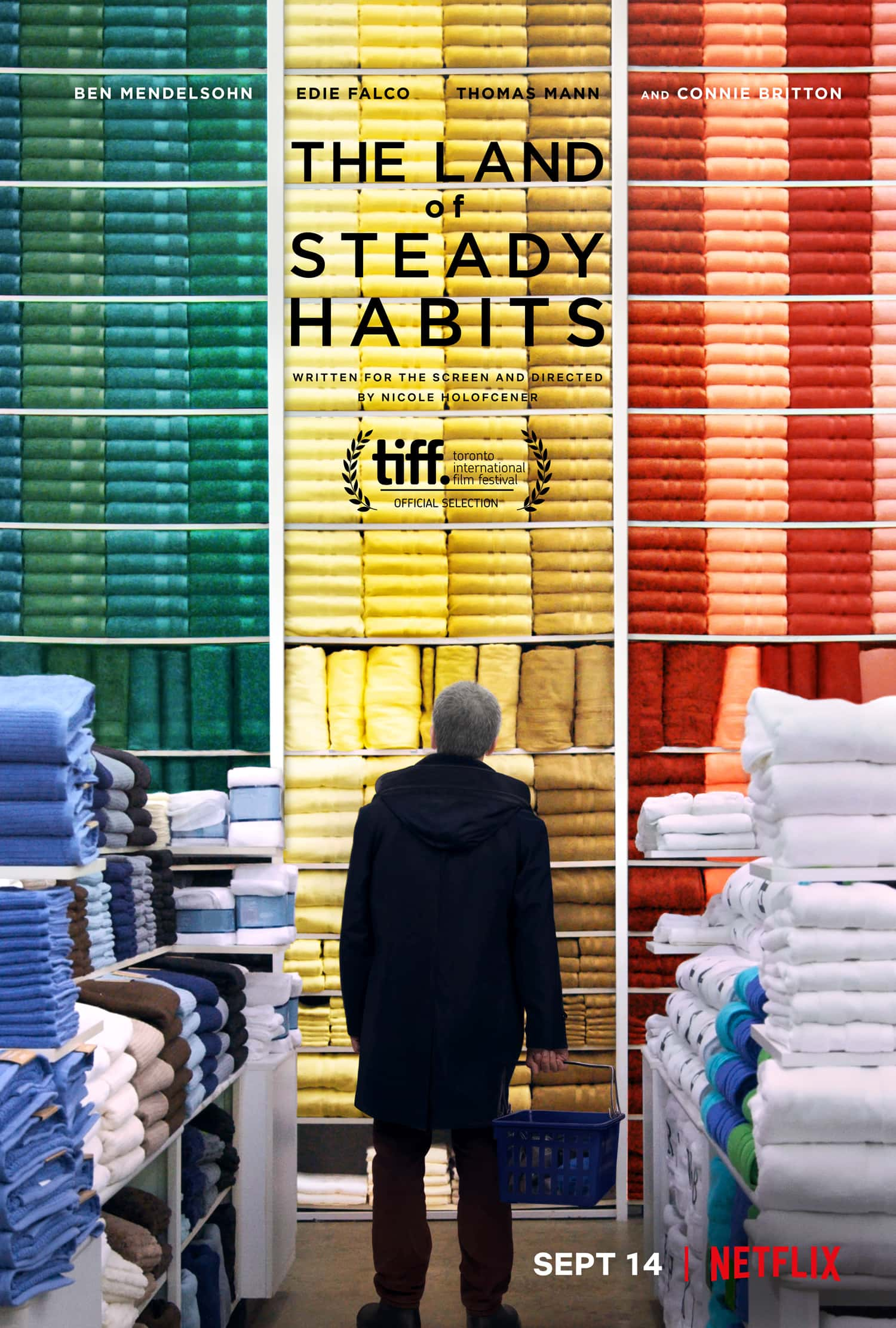 'The Land of Steady Habits' will begin streaming on Netflix on September 14.