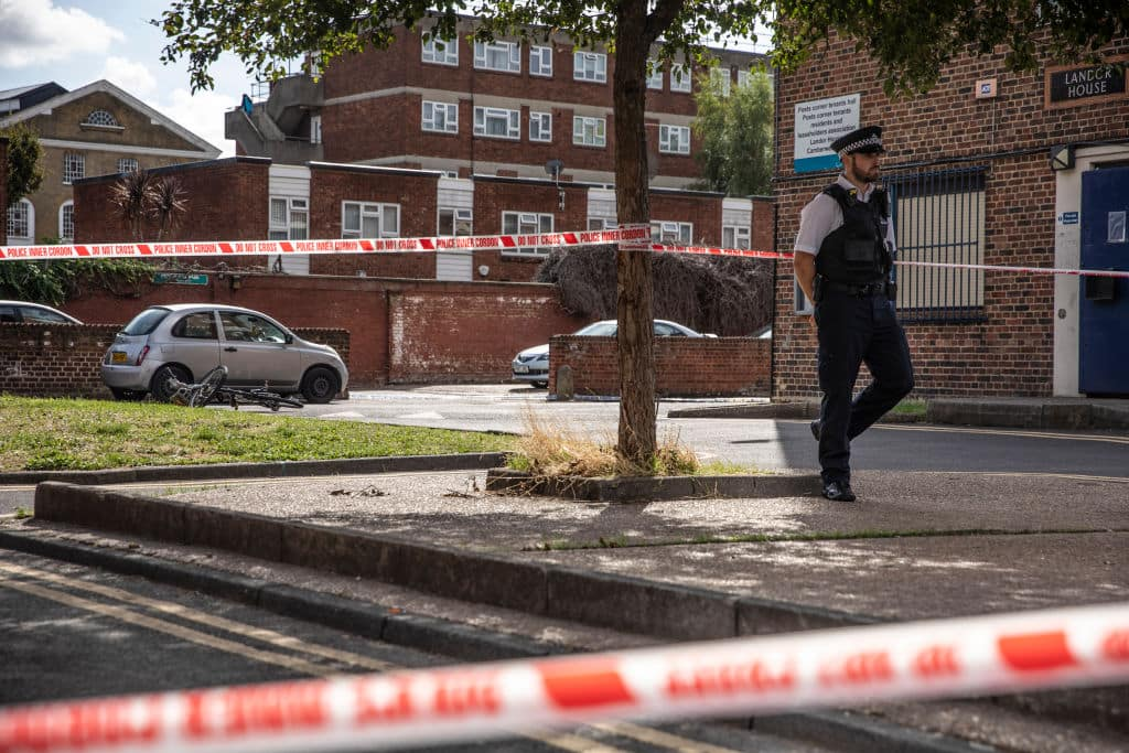 London has witnessed a total of 100 homicide cases till now this year. (Getty Images)
