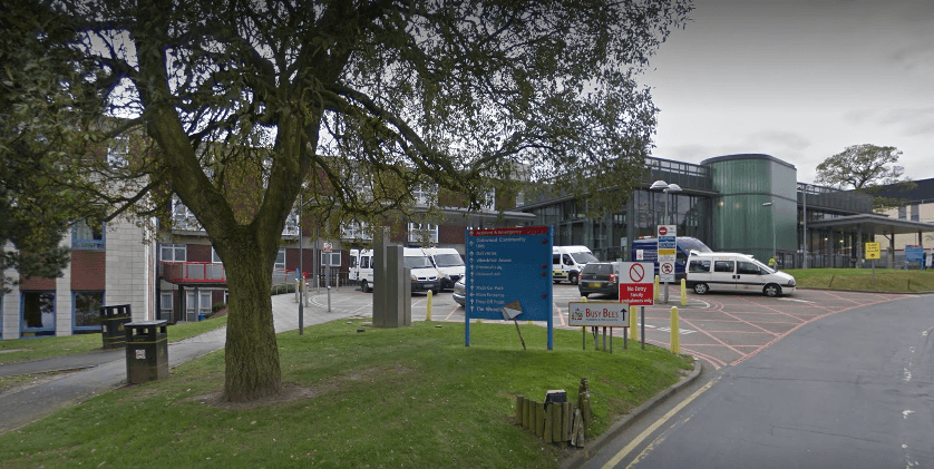 Rotherham Hospital (Source: Google Maps)
