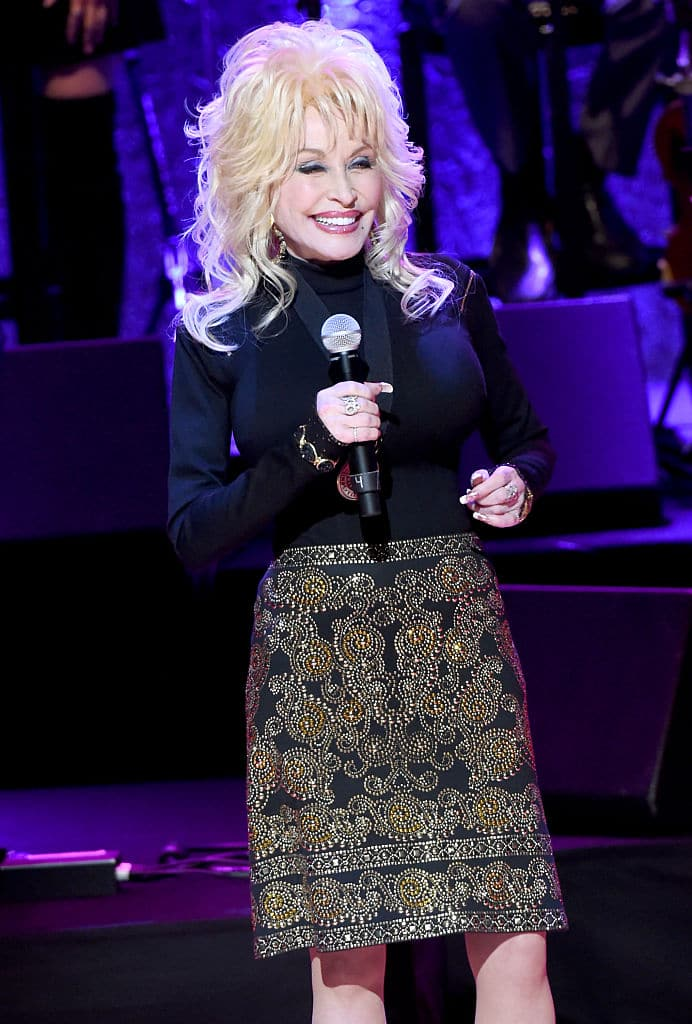 Dolly Parton was the only woman on the list (Source: Rick Diamond/Getty Images for Country Music Hall of Fame & Museum)