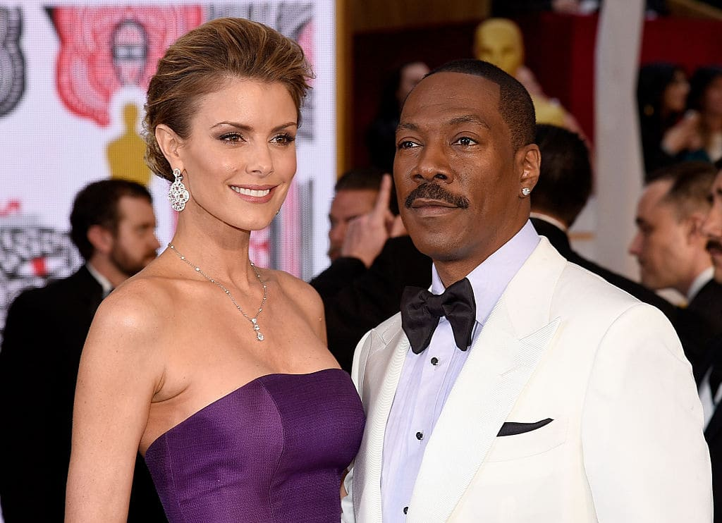 Paige Butcher and Eddie Murphy started dating back in 2012 and already share two-year-old daughter Izzy Oona Murphy (Getty Images)