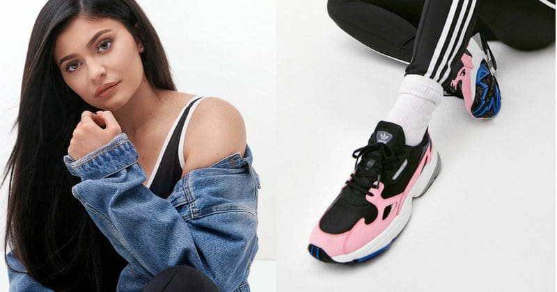 uk availability 0f7fb 012bb Kylie Jenner becomes the face of Adidas Originals  FW18 Falcon campaign