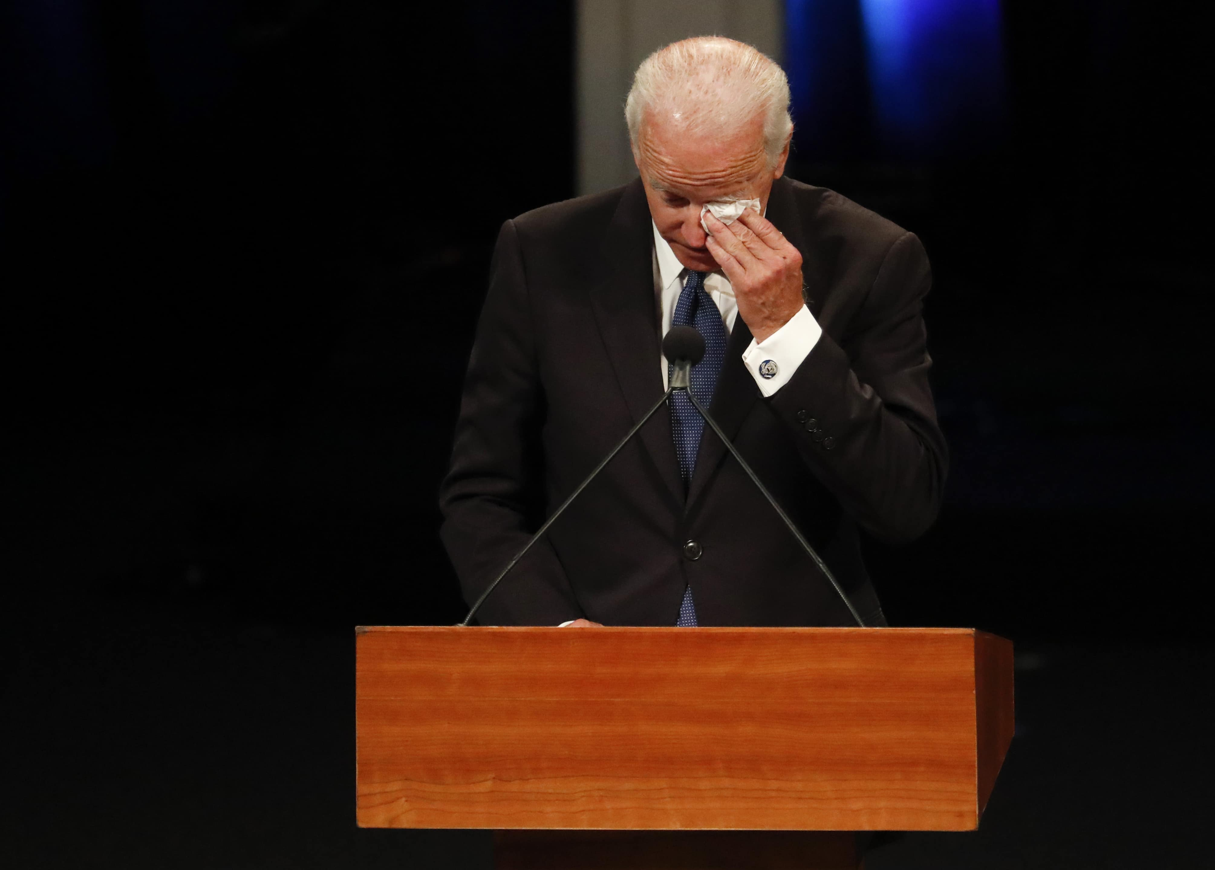 Biden wanted McCain to be remembered for how he lived and not how he died (Getty Images)
