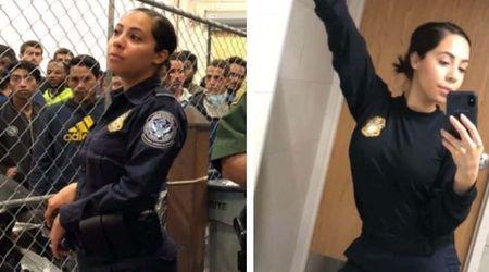 Ice bae' Latina border patrol officer, a registered Democrat voter