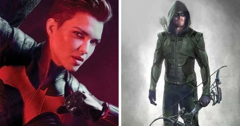 'Arrowverse' SDCC 2019 news has fans excited for Ruby Rose's 'Batwoman' and weeping Green Arrow star Stephen Amell's departure