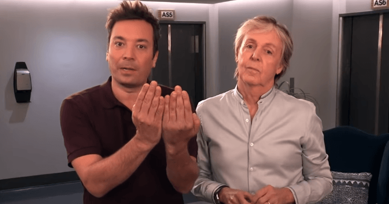 Paul McCartney And Jimmy Fallon Team Up To Pull Hilarious Sketches On Fans At The