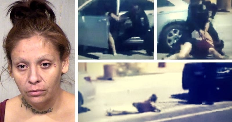 Disturbing Video Kentucky Cop Handcuffs >> Shocking Footage Shows Cop Punching Unarmed Woman In The Face Before