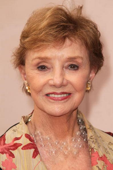 Actress Peggy McCay attends the Academy of Television Arts and Sciences presents' 45 Years of Days of Our Lives celebration at the at Leonard H. Goldenson Theatre on September 28, 2010, in North Hollywood, California. (Photo by Frederick M. Brown/Getty Images)