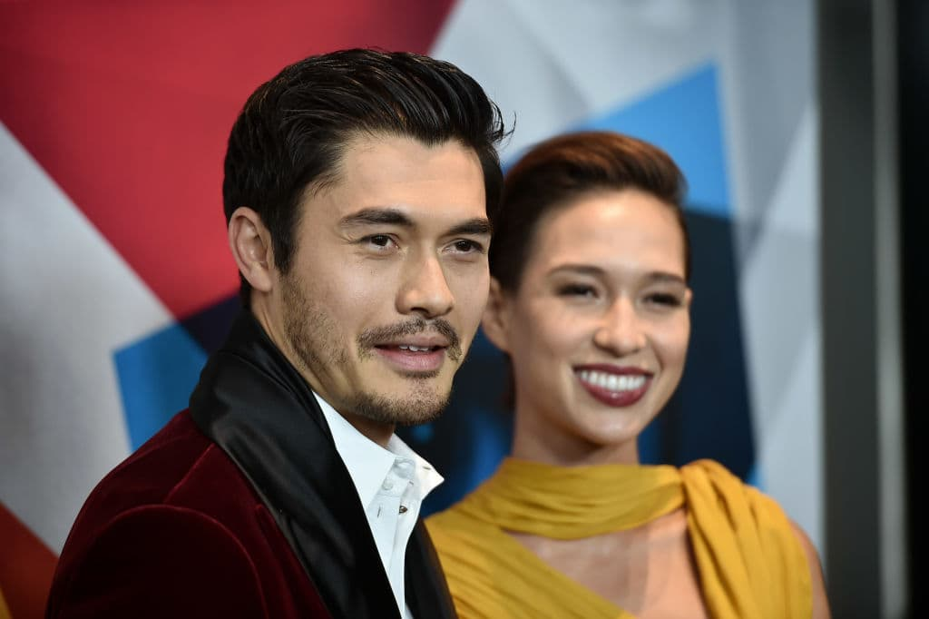 Henry Golding and Live Lo attend the New York premier of 'A Simple Favor' at Museum of Modern Art on September 10, 2018 in New York City. (Photo by Steven Ferdman/Getty Images)