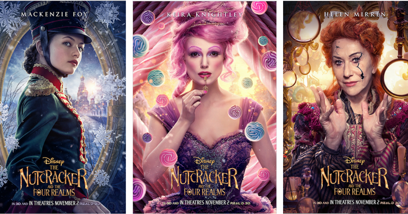 See the character posters of Disney's upcoming 'The Nutcracker and the Four Realms'