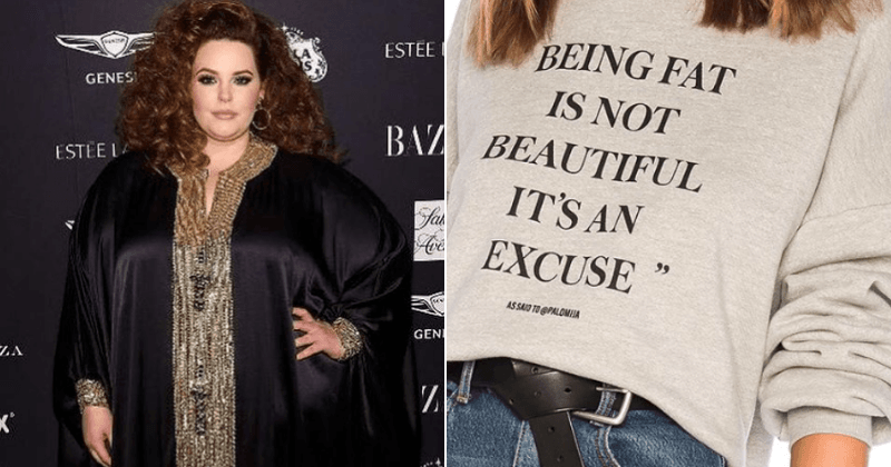 "Tess Holliday slams brand promoting 'fat-shaming' jumpers: ""Y'all are a mess"""