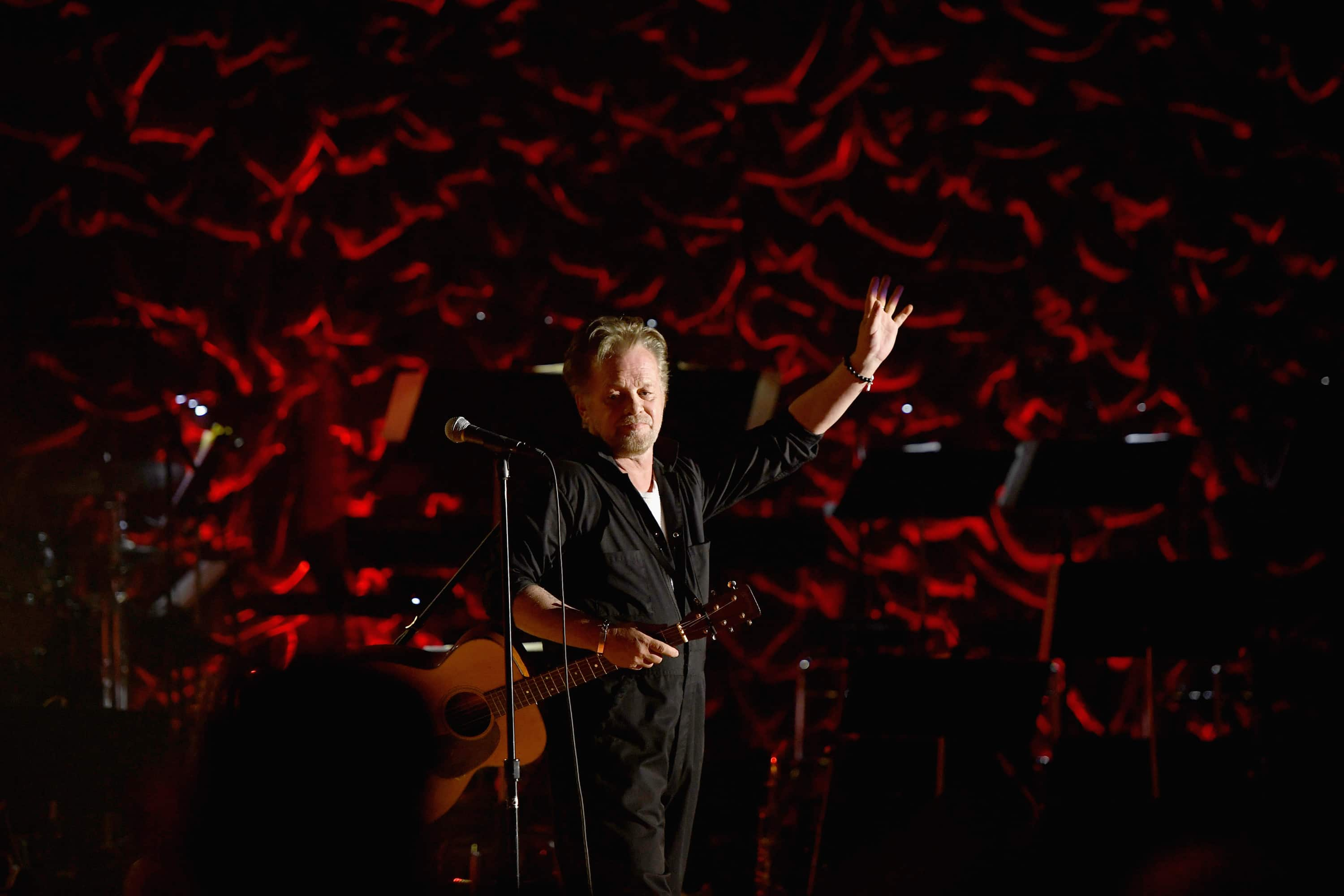 Songwriters Hall of Fame Inductee John Mellencamp performs onstage during the Songwriters Hall of Fame 49th Annual Induction and Awards Dinner at New York Marriott Marquis Hotel on June 14, 2018 in New York City. (Photo by Larry Busacca/Getty Images