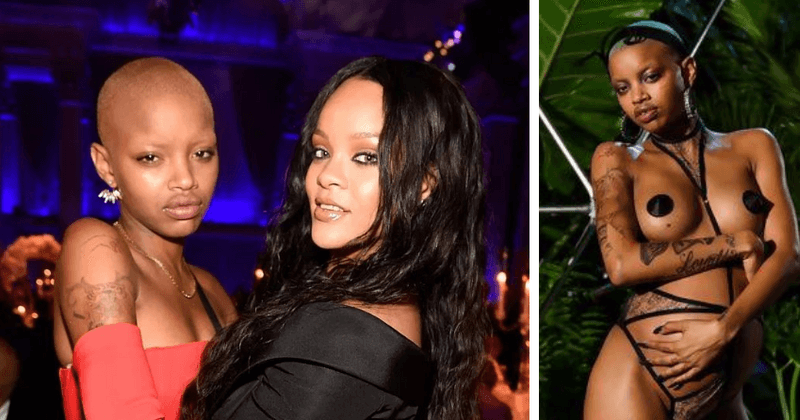 Slick Woods goes into labor at Rihanna's fashion show, among other dramatic things that happened to her in the last one year