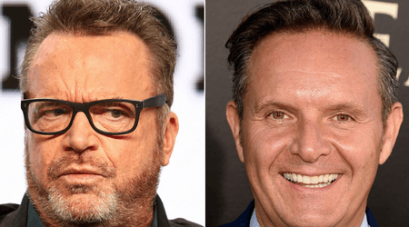 "'Apprentice' boss Mark Burnett ""choked me"" at pre-Emmy's party, claims comedian Tom Arnold"