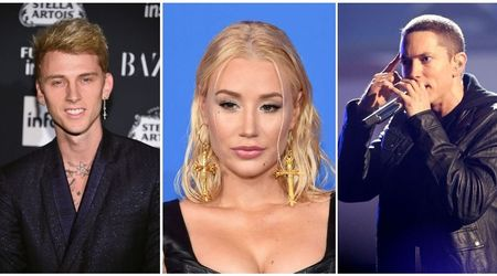 Is Iggy Azalea getting sucked into the Eminem vs Machine Gun Kelly feud?
