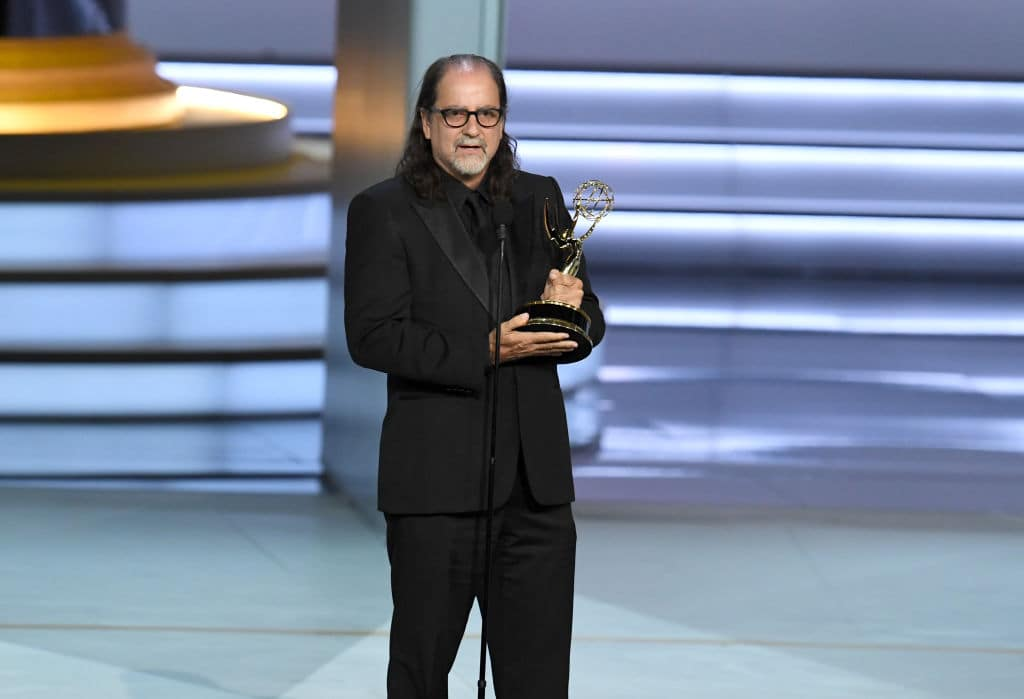 Glenn Weiss proposed to longtime girlfriend Jan Svendsen while accepting the Outstanding Directing for a Variety Special award for 'The Oscars' (Getty Images)