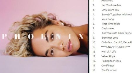 Rita Ora announces release date for her latest album 'Phoenix'