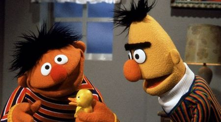 "'Sesame Street' writer Mark Saltzman now says Bert and Ernie are ""guys who love each other"" but not exactly a couple"