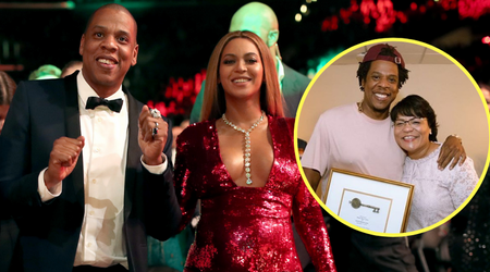 Another one! Beyonce and Jay Z receive key to the city of New Orleans for their 'humanitarian work'