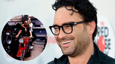 PICTURED: 'Big Bang Theory' star Johnny Galecki dating model Alaina Meyer, 22 years his junior