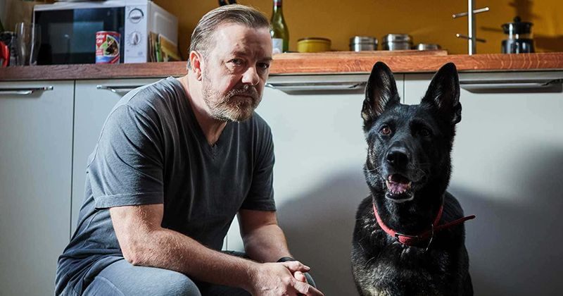'After Life' season 2 may see Ricky Gervais' Tony Johnson bond deeper with his pet dog and finally overcome depression