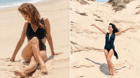 71-year-old Susan Lucci looks stunning in unretouched swimsuit pictures