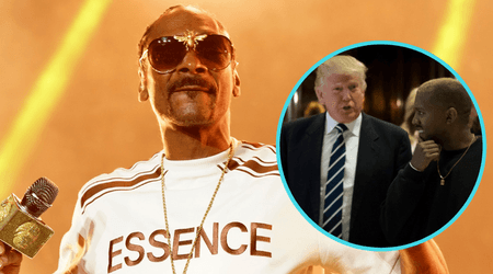 Snoop Dogg dropped a couple of 'f*ck you's to Donald Trump and Kanye West