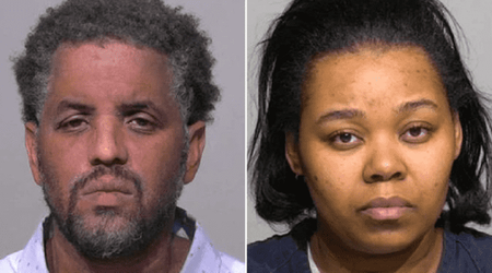 Partially burned bodies of couple found after they