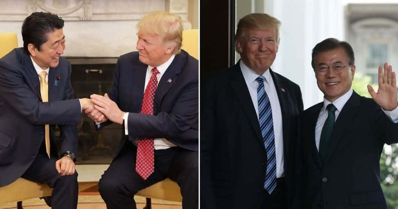 Trump mimics Asian accent to mock Japanese and South Korean leaders at controversial fundraiser