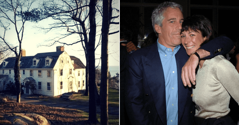 Epstein's accomplice Ghislaine Maxwell living with tech CEO in his secluded $3 million beachfront mansion