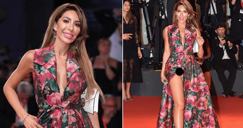 Farrah Abraham Suffers a Major Wardrobe Malfunction in Venice