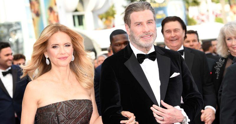 John Travolta and Kelly Preston celebrate 28th wedding