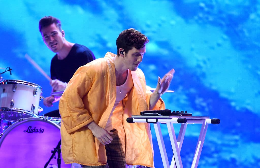"This past summer, Lauv performed his hit single, ""I Like Me Better"", on the Tonight Show starring Jimmy Fallon, as well as the 2018 Teen Choice Awards and 2018 MTV Video Music Awards (Getty Images)"