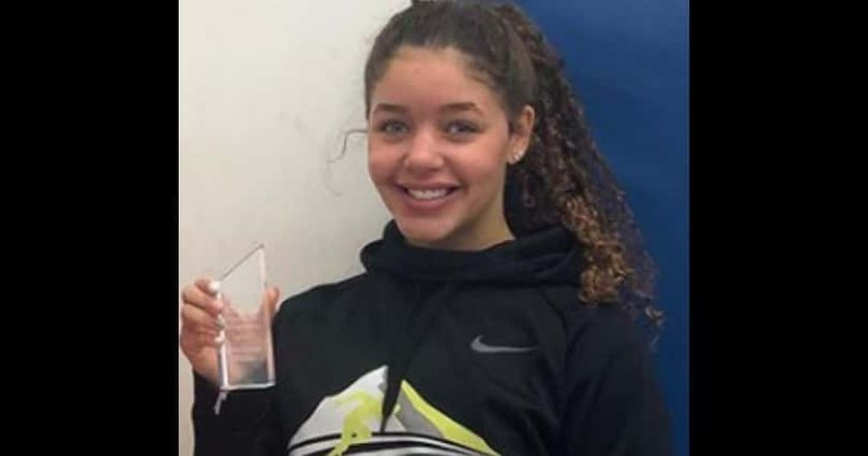 Teen swimmer disqualified by referee after she suffered a