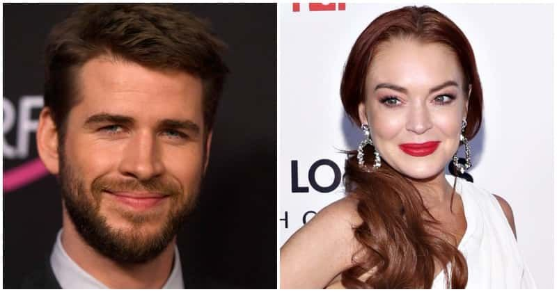 Liam Hemsworth shows no interest in Lindsay Lohan's flirty comment following his split from Miley Cyrus