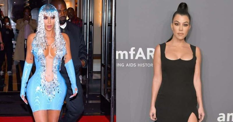 Kim Kardashian left embarassed and furious after Kourtney insults her Met Gala dress designed by Thierry Mugler: 'Are you coming as Nicki Minaj?'