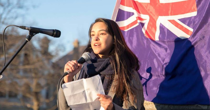 Teens pledge not to have kids until government takes climate change seriously and 'ensures a safe future for them'
