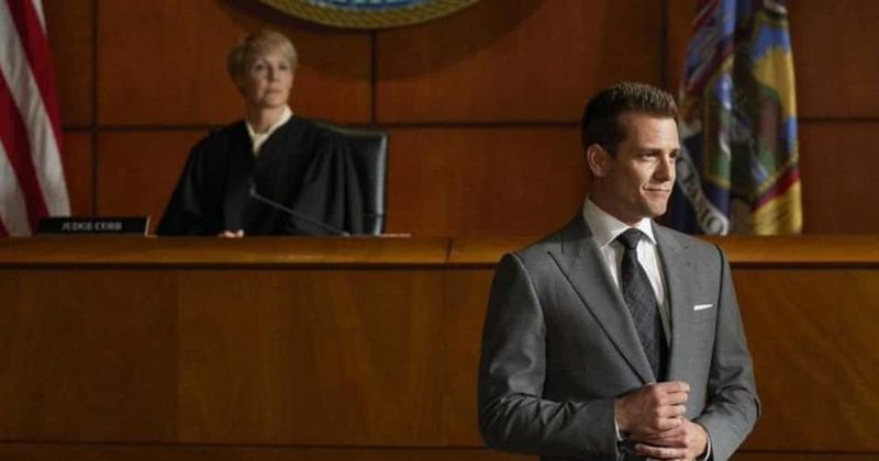suits season 9 episode 10 harvey and louis might come out on top but will faye hold up her end of the bargain meaww suits season 9 episode 10 harvey and